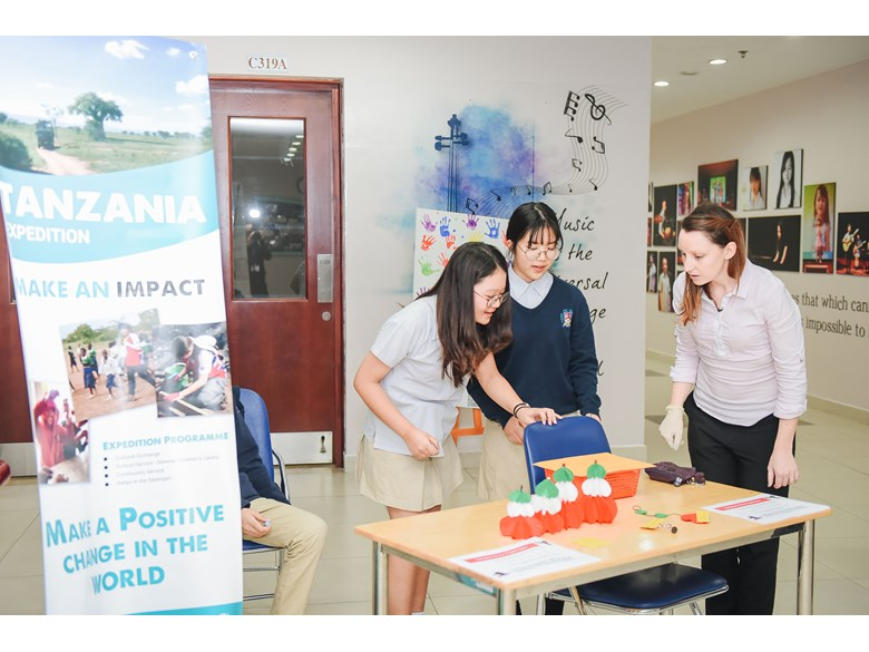 british international school hanoi tanzania fundraising