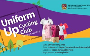 Uniform Upcycling Club - BIS Secondary Campus