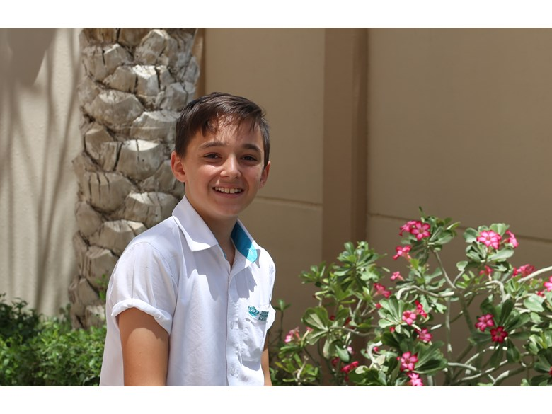 Student Profile: Hugh, Year 7