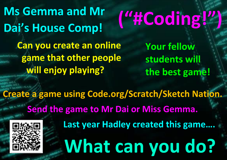 Year 5 coding competition