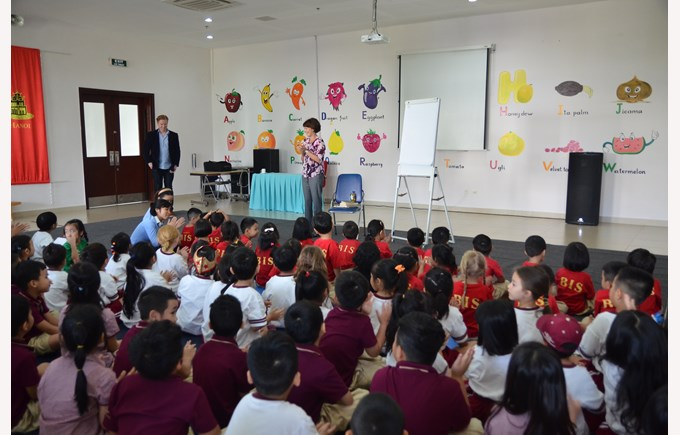 British International School Hanoi - Book Week