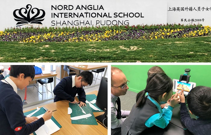 AGM for the Nord Anglia China Association 1