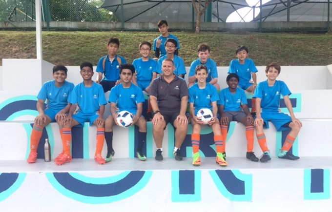 DCIS U16 Boys Football Team