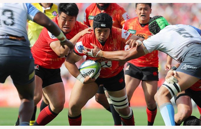 Sunwolves at DCIS 2016