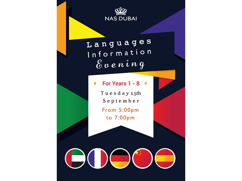 Languages Information Evening