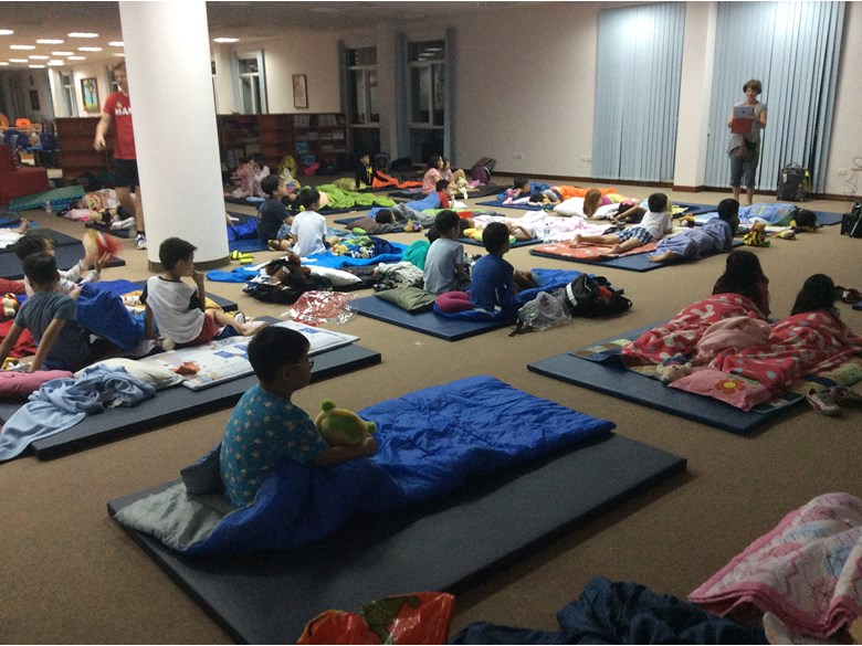 British International School Hanoi- year 3 sleepover