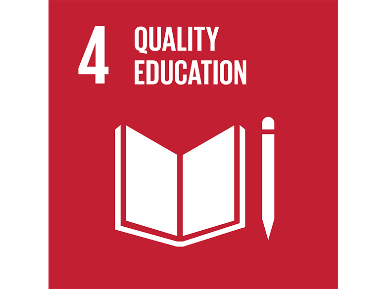 Goal 4: Ensure inclusive and equitable quality education and promote lifelong learning opportunities for all