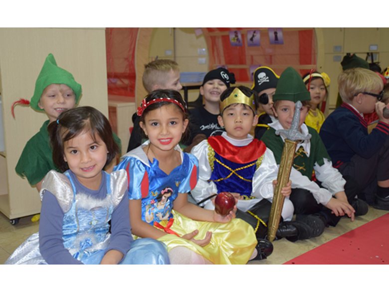 Year 1 at the British International School Shanghai, Puxi celebrate their Fairy Tale Day