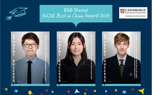IGCSE Best in China banner 2019