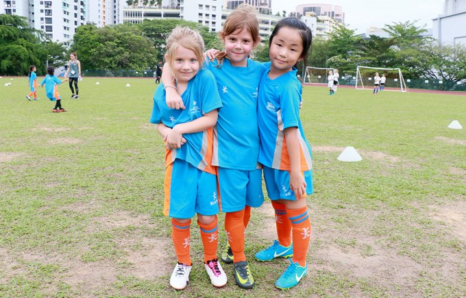 Under 8 Girls Football Team
