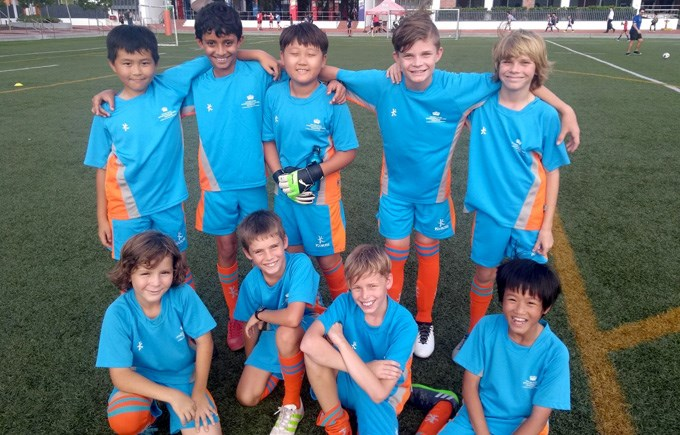 DCIS Under 11 Boys Division 3 Football Team