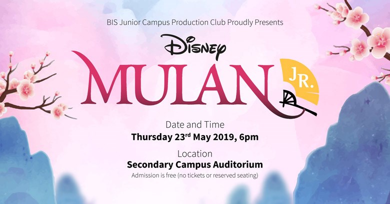 Primary Production of Mulan Jr. - BIS HCMC