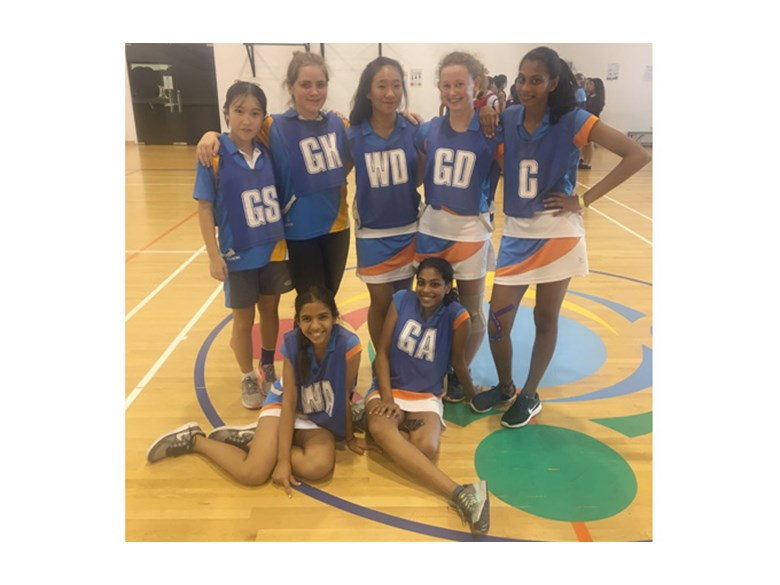 DCIS Under 16s Netball Team