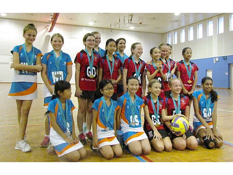 Netball U12 A Won Silver Medal for Division 3