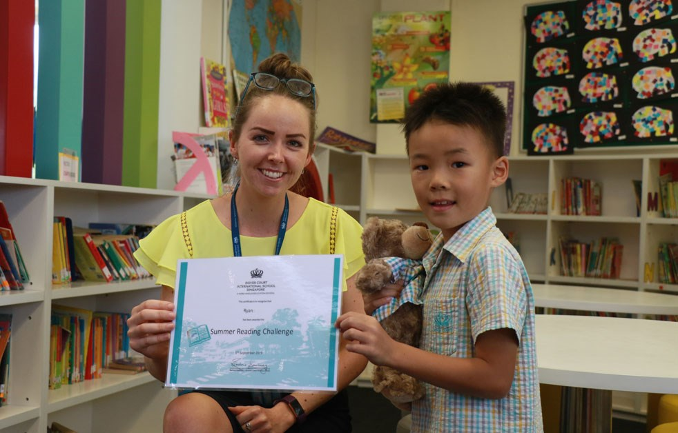 Dover Court International School Singapore Summer Reading Challenge Winners