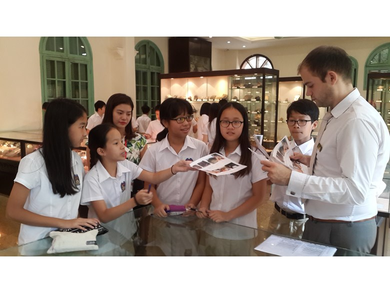 British International School hanoi year 8 trip