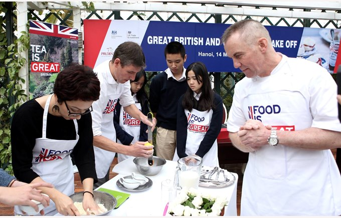 British International School Hanoi Great British Bake Off (2)