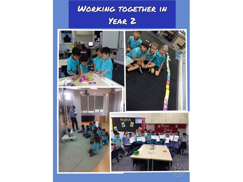 Working together in Year 2
