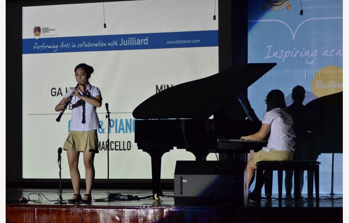 Britist International School Hanoi - The Julliard Launch