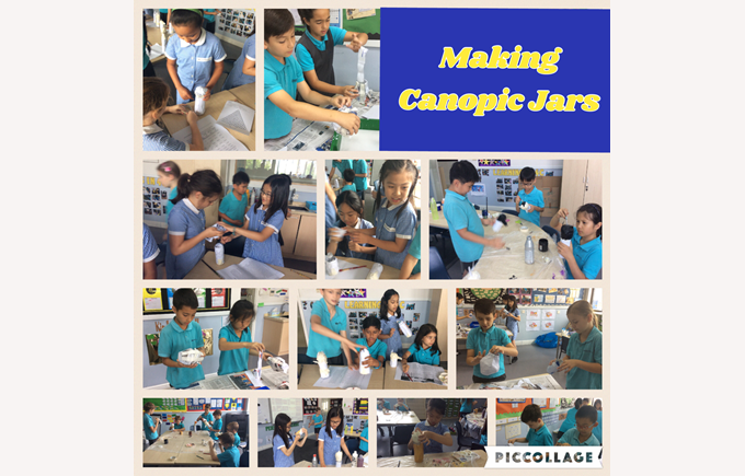Year 4 make canopic jars