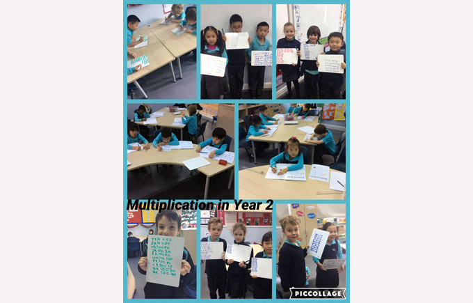 Multiplication in Year 2
