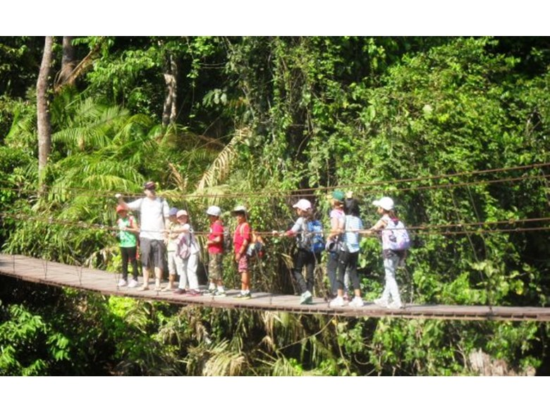 Year 4 students visit Khao Yai National Park