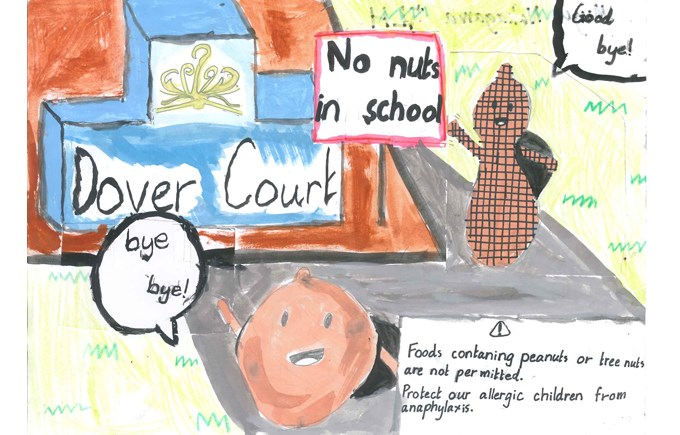 Nut Free poster competition