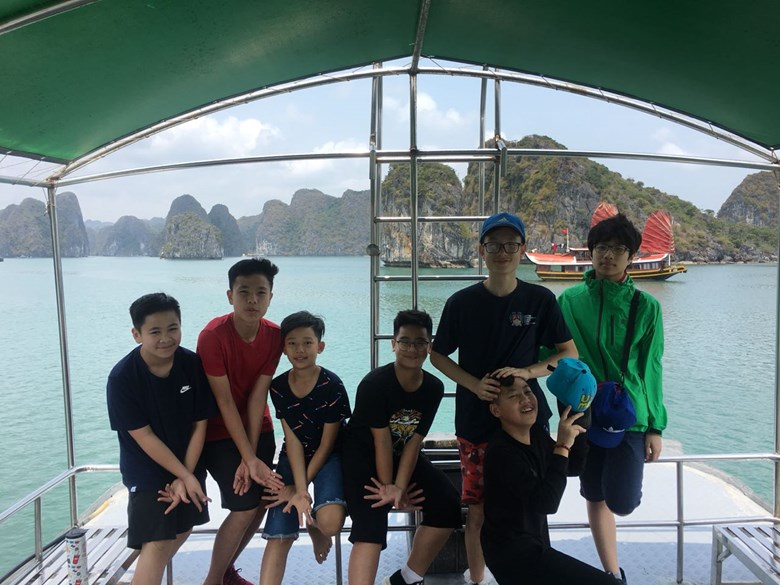 British International School Hanoi Y8 Cat Ba Trip 2018 (5)