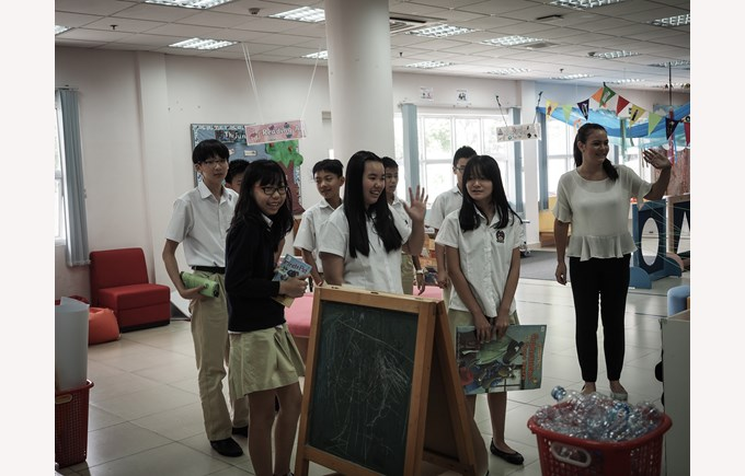 British International School Hanoi book week