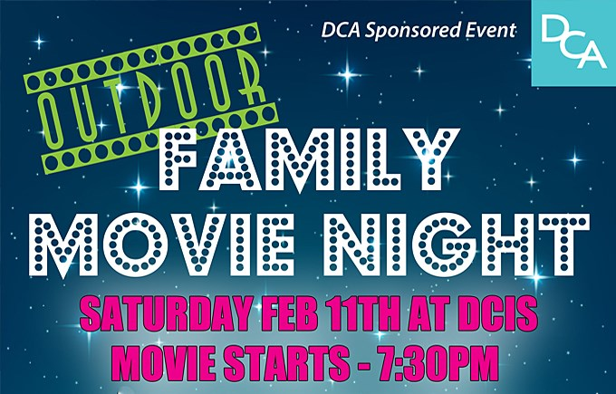 DCA Family Movie Night