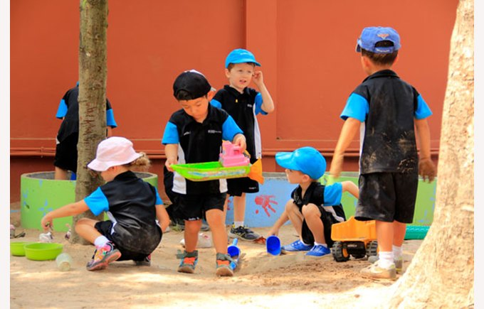 Early Years / Kindergarten kids at Regents International School Pattaya