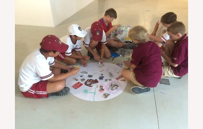 BIS Ho Chi Minh Year 5 and 6 visit a Art anf Science exhibit - 4