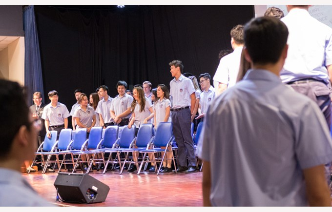 Leavers Assembly