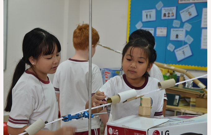 British International School Hanoi Primary science week