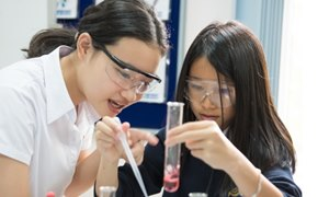 Student science experiment