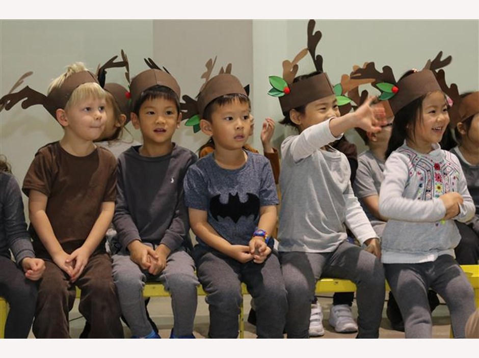 Reception Christmas show