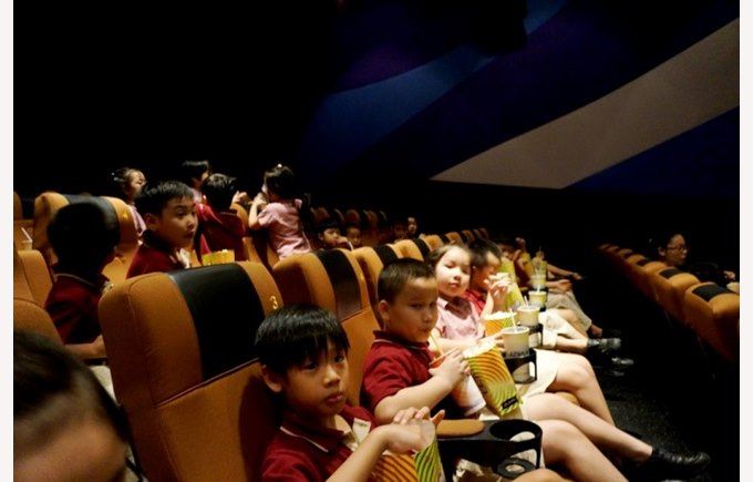 Trip to platinum cineplex  - Year 2 BVIS Hanoi (8)