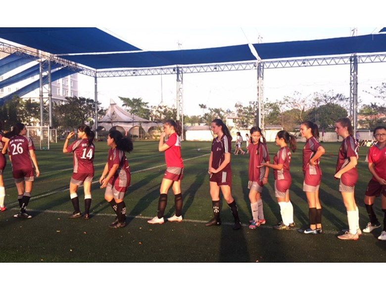 U19b Girls Football BISHCMC vs AmIS
