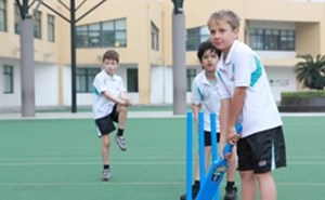 Primary cricket players