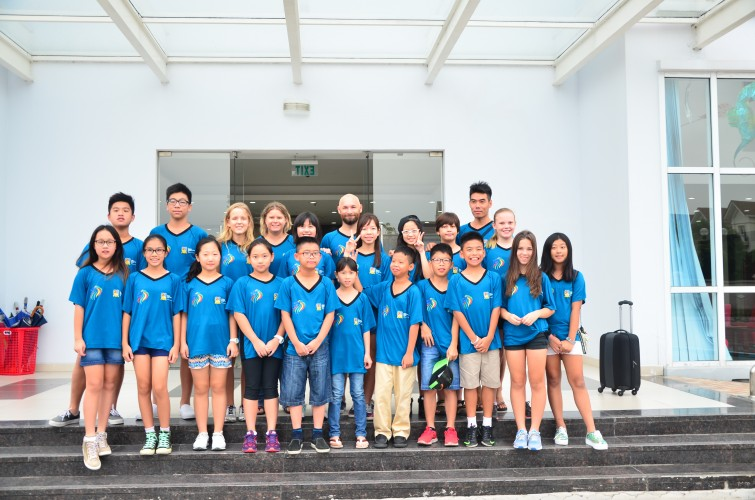 Swimming Gala HCMC British International School Hanoi