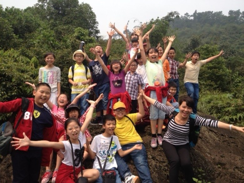 Year 5 and Year 6 BVIS Hanoi's residential trip to Ba Vi (1)