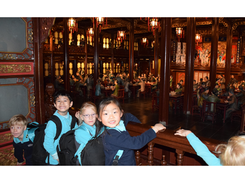 Year 1 students at the British International School Shanghai, Puxi visit the Shanghai History Museum