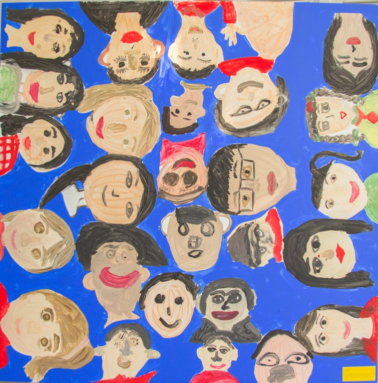 Art Exhibition at Tu Xuong Primary