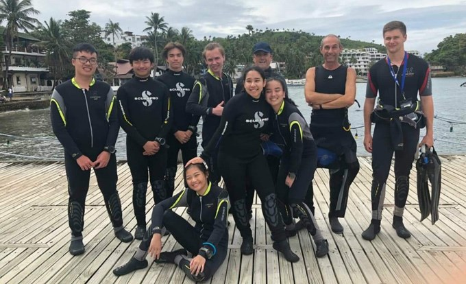 Year 12 - Diving in Puerto Galera