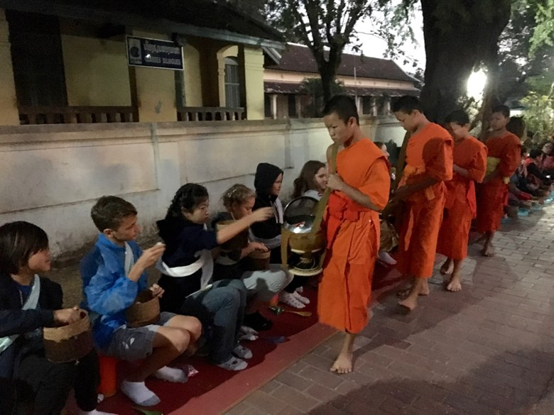 Years 8 and 9 Laos Trip Update Day 1