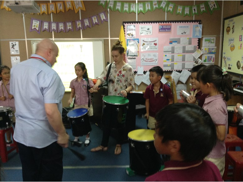 Drumming workshop with UK percussionist Andy Gleadhill 6