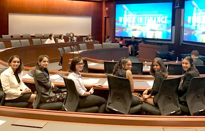 DCIS Students visit the Women In Finance event at NUS-Yale
