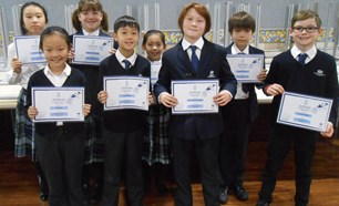 GC Writing Competition BSB Final entries Primary