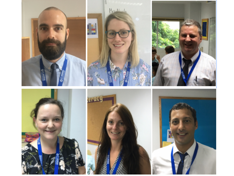 6 New Teachers