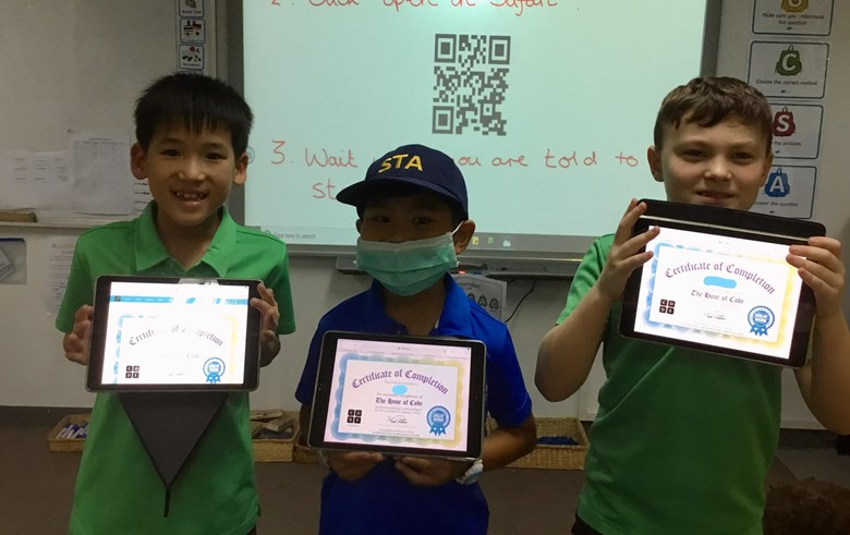 Coding challenge St Andrews International School Bangkok